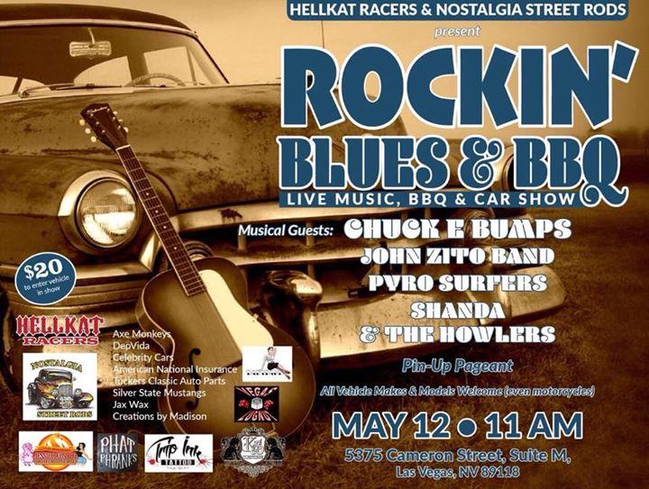 Rockin Blues, BBQ Car Show