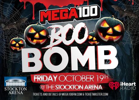 Mega 100 Boo Bomb Concert at Stockton Arena