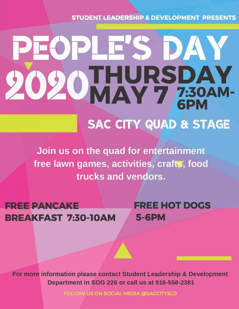 Sacramento City College People's Day