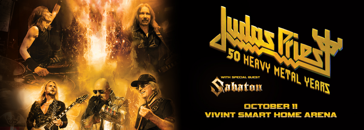 Judas Priest 50 Heavy Metal Years at the Vivint Smart Home Arena