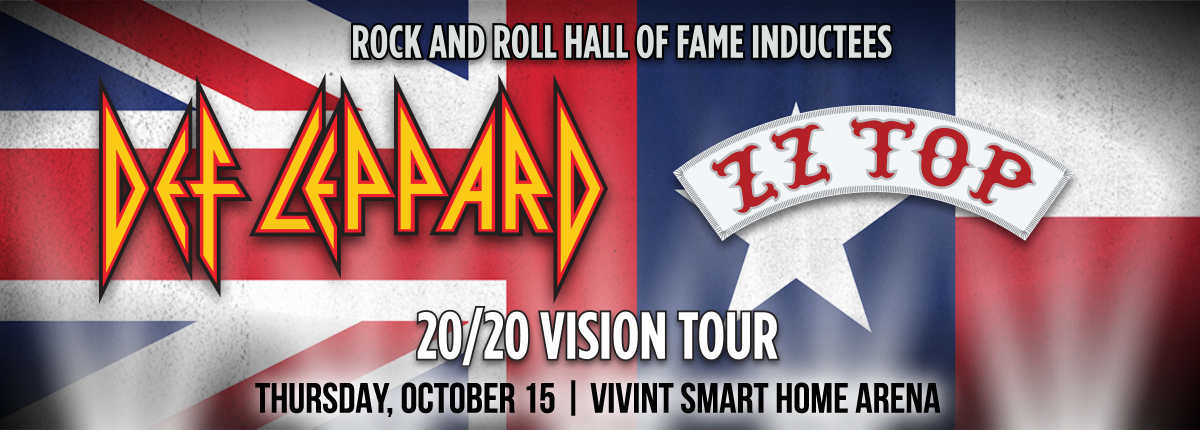 Def Leppard & ZZ Top at the Vivint Smart Home Arena