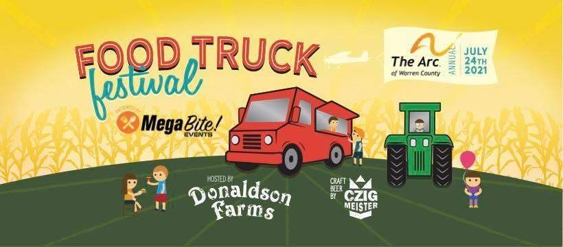 3rd Annual ARC of Warren County Food Truck Fest by MegaBite
