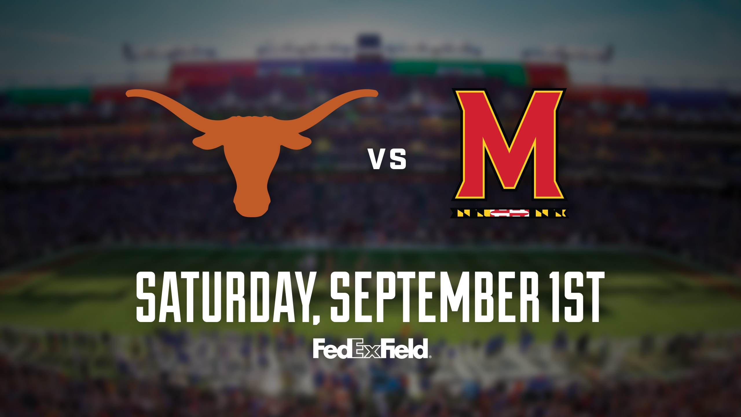 FedEx Field – Texas vs. Maryland Football