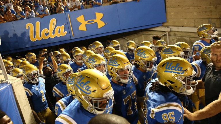 UCLA Football at the Rose Bowl